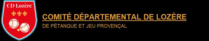 COMITÉ DÉPARTEMENTAL DE LOZÈRE